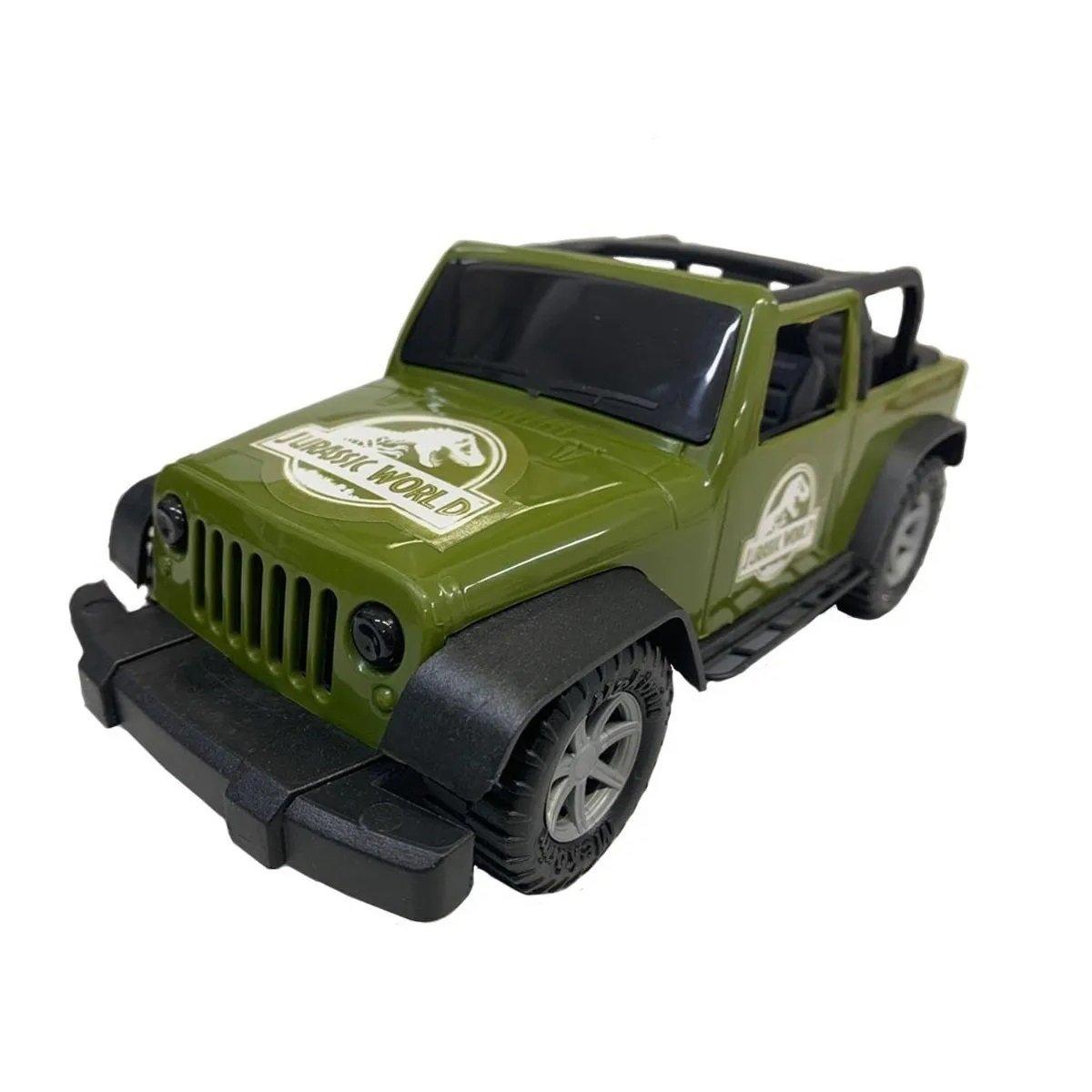 Carrinho Jeep Jurassic World Veículo De Aventura Pupee 4003