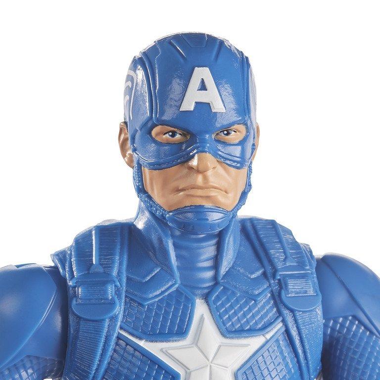 Boneco Capitão América Titan Hero - Marvel - Hasbro E7877