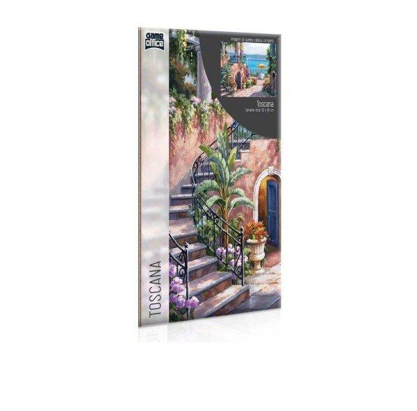 Quebra Cabeça Duplo Recantos Italianos Toscana E Vinha 1000 Peças - Toyster 2667