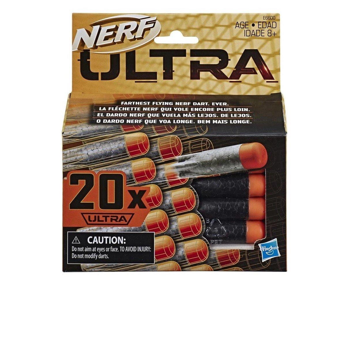 Refil Nerf Ultra 20 Dardos - Hasbro E6600