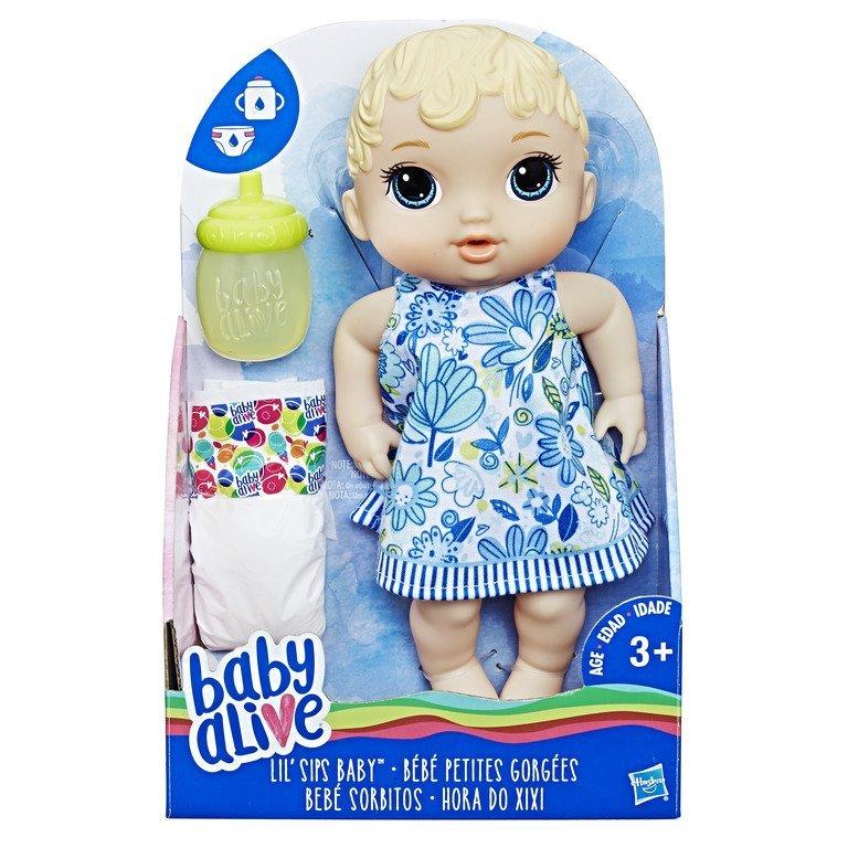 Boneca Baby Alive Hora Do Xixi Loira - Hasbro E0385