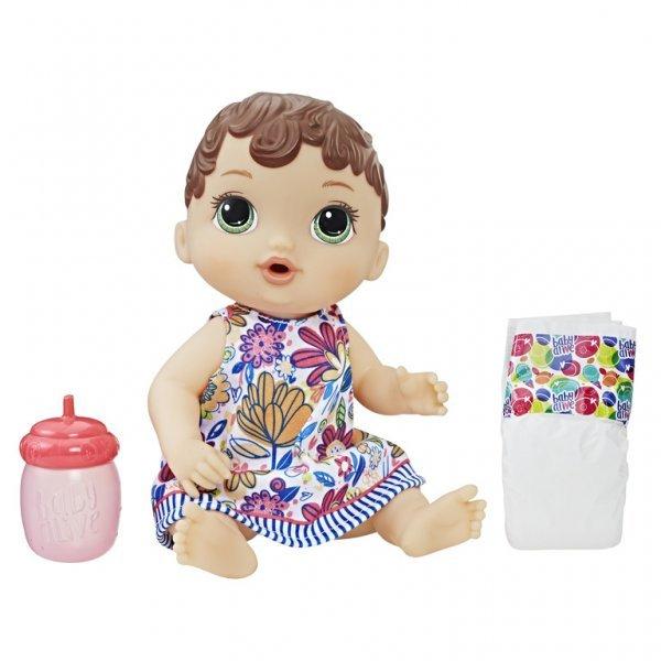 Boneca Baby Alive Hora Do Xixi Morena - Hasbro E0499