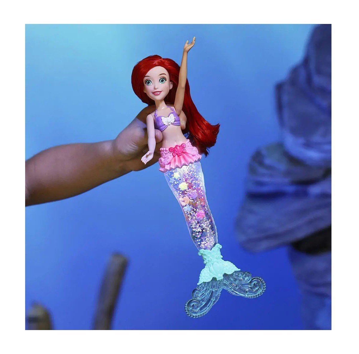 Boneca Princesa Ariel Glitter - Hasbro E6387