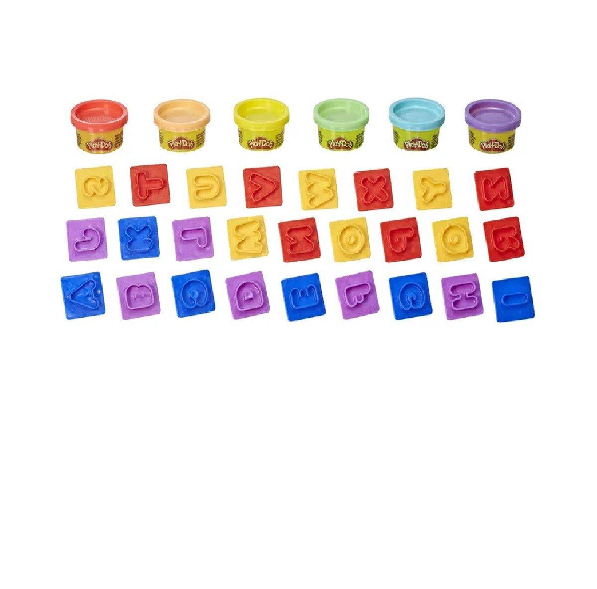 Massinha Play-doh Letras - Hasbro E8532