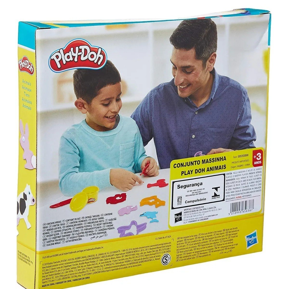 Massinha Play-doh Animais - Hasbro E8535