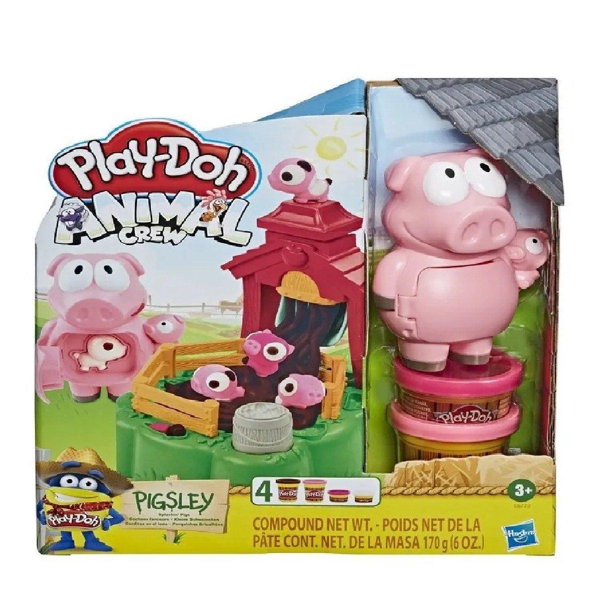 Massinha Play-doh Porquinhos Brincalhões - Hasbro E6723