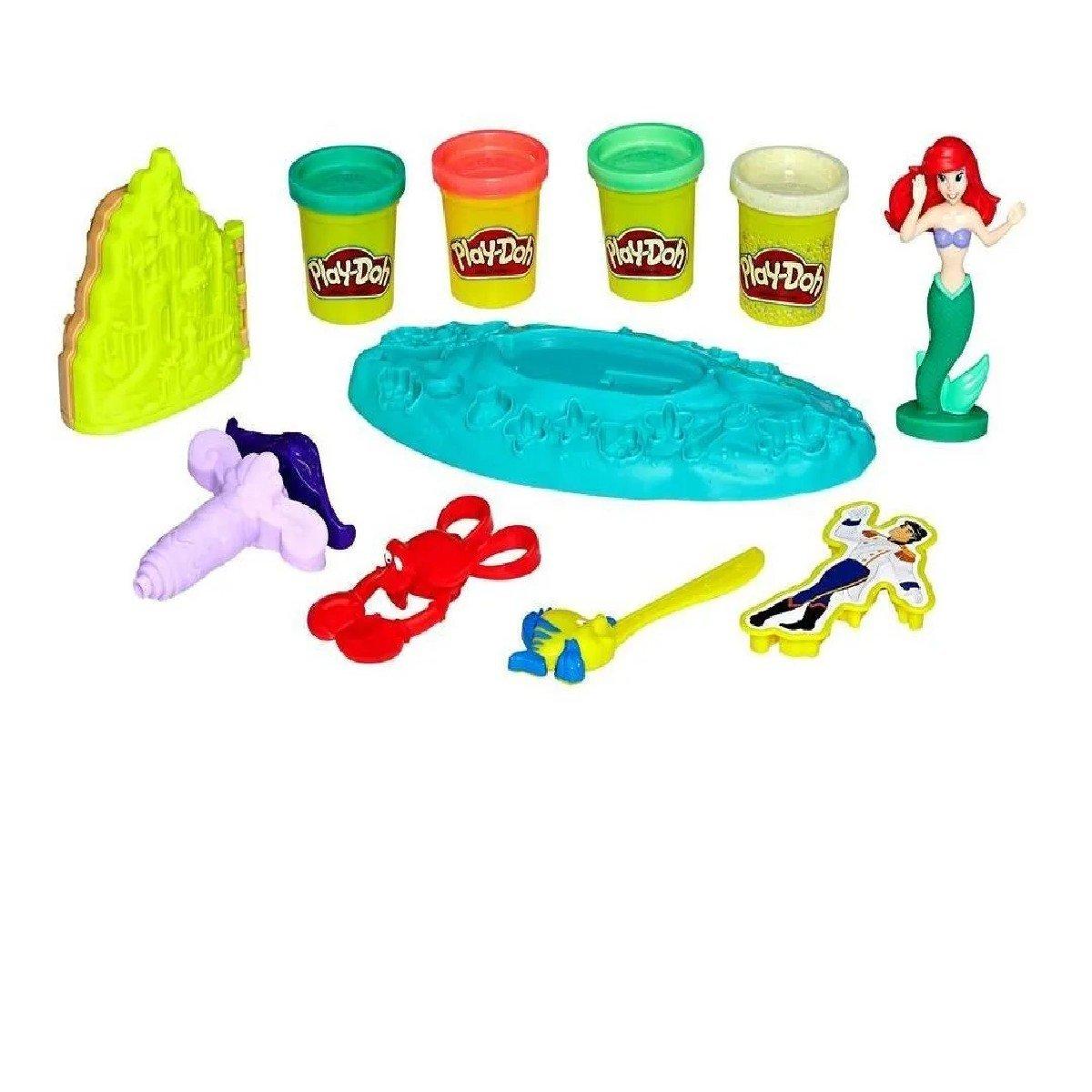 Massinha Play-doh Casamento No Fundo Do Mar - Hasbro E0373