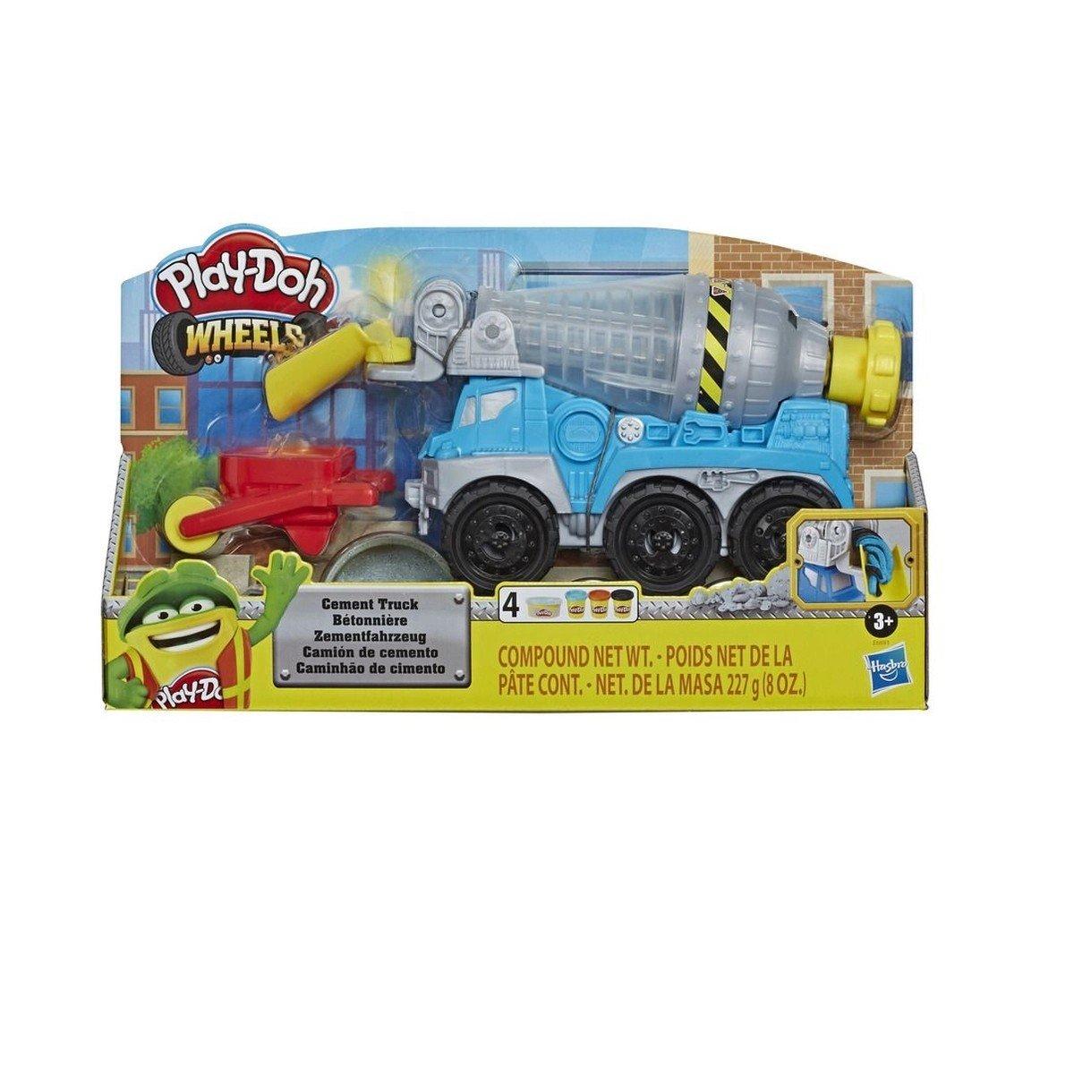 Massinha Play-doh Caminhão De Cimento - Hasbro E6891