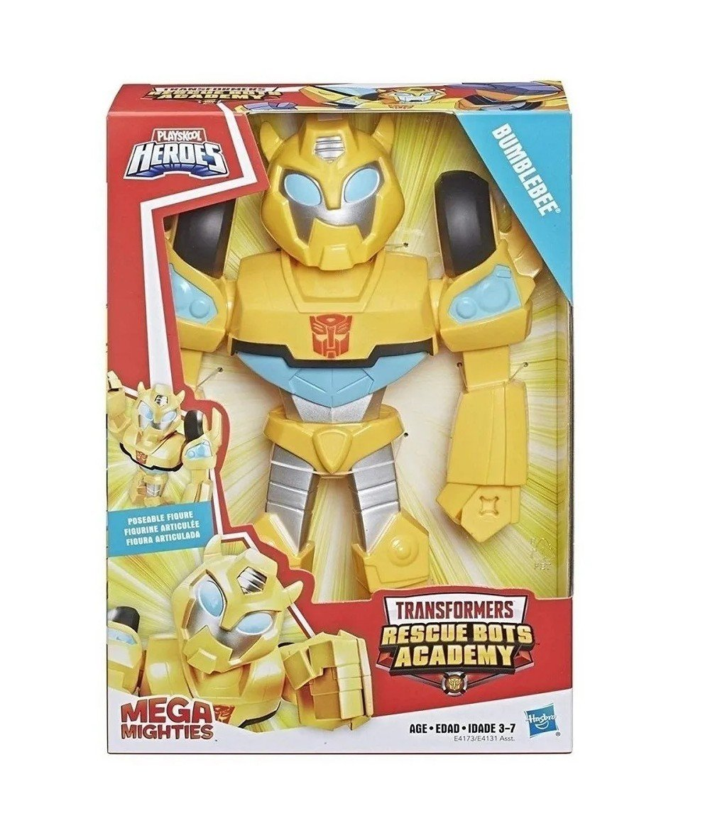 Boneco Bumblebee Rescue Bots Academy Transformers - Hasbro E4173