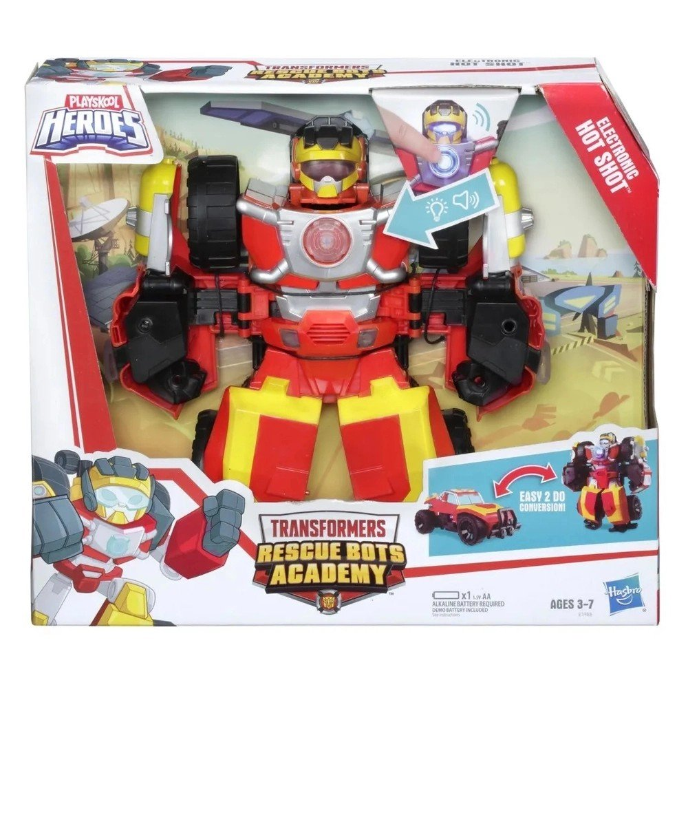 Transformers Rescue Bots Eletrônico Hot Shot - Hasbro E1988