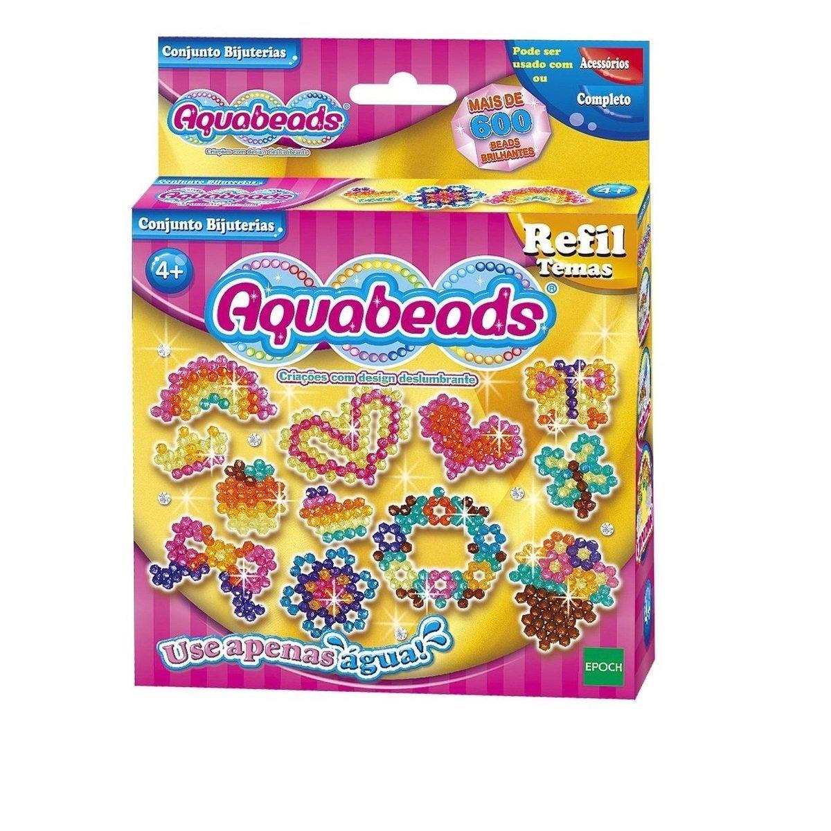 Conjunto Bijuterias Refil Aquabeads - Epoch 30658
