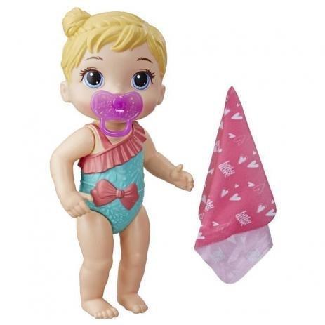 Boneca Baby Alive Banhos Carinhosos Loira - Hasbro E8721