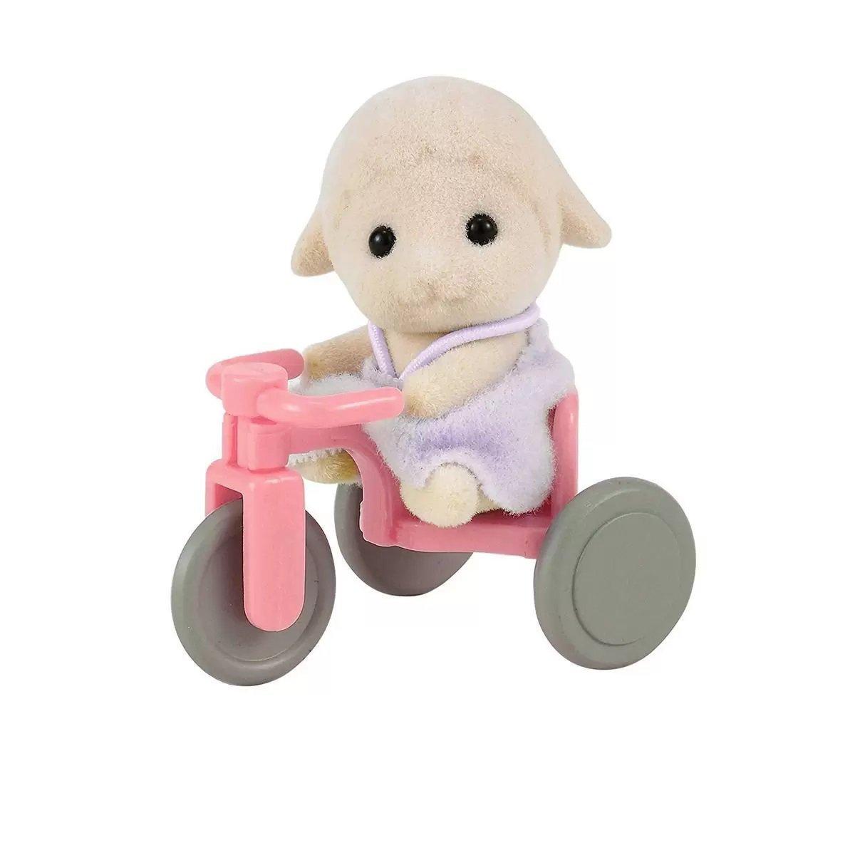 Sylvanian Families Bebê Ovelha Com Triciclo - Epoch 4561