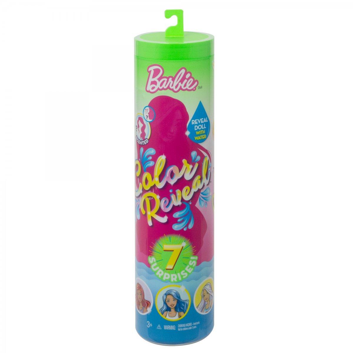 Barbie Color Reveal Estilo Surpresa Comidinhas Mattel Gtp89