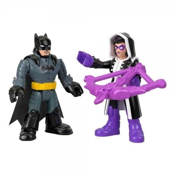 Boneco Imaginext Batman E Huntress - Mattel Gkj66