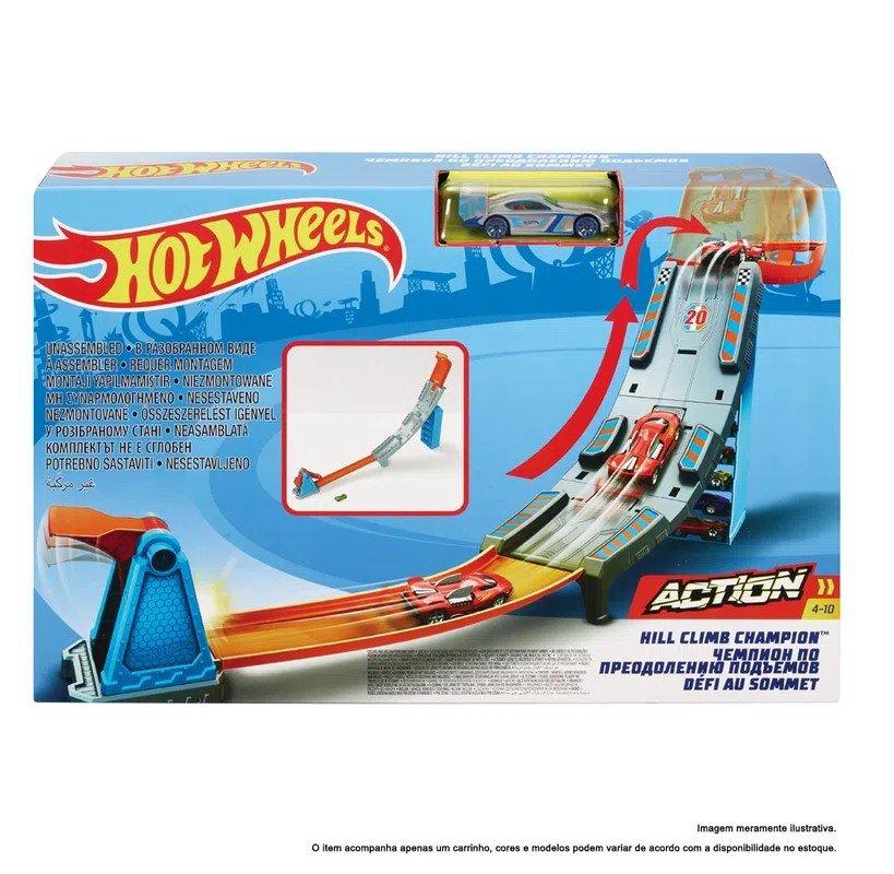 Hot Wheels Pista Action Campeonato Para O Topo  Mattel Gbf83