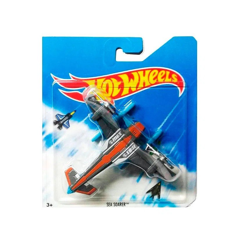 Avião Skybusters Hot Wheels - Mattel Bbl47