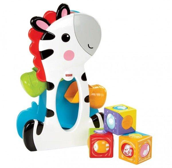 Blocos Surpresa Zebra Fisher Price - Mattel