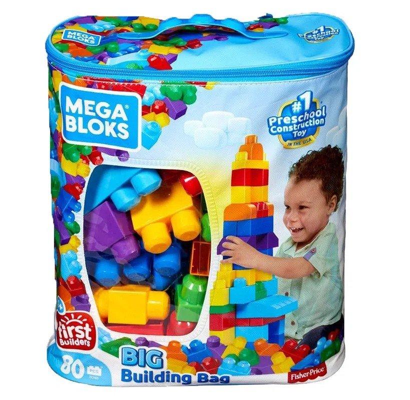Bloks Sacola Com 80 Blocos - Fisher Price Dch63