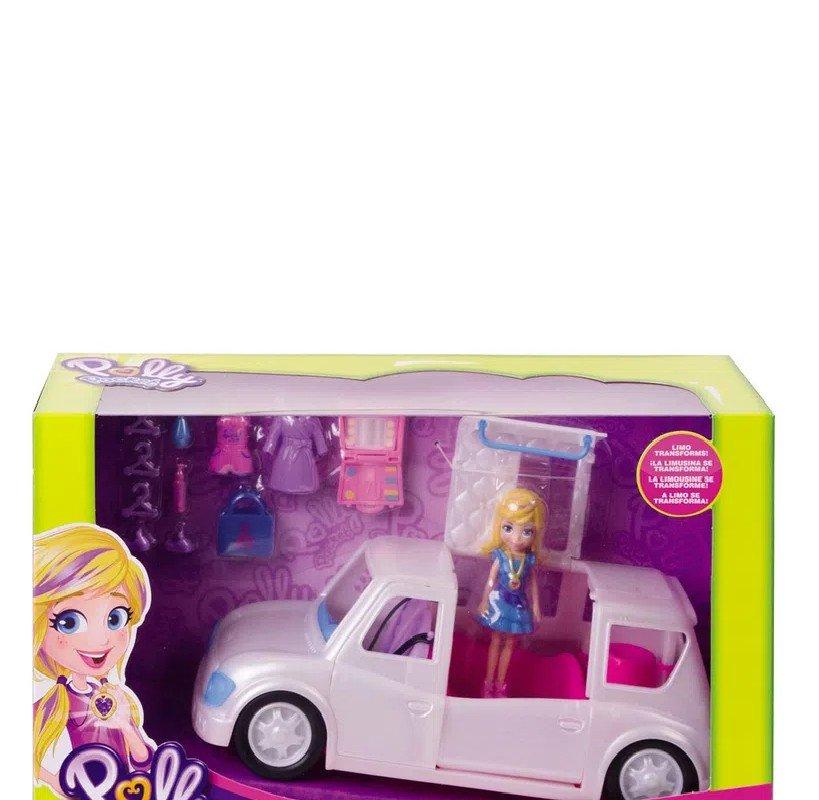Boneca E Veículo Polly Pocket Limosine De Luxo - Mattel Gdm19