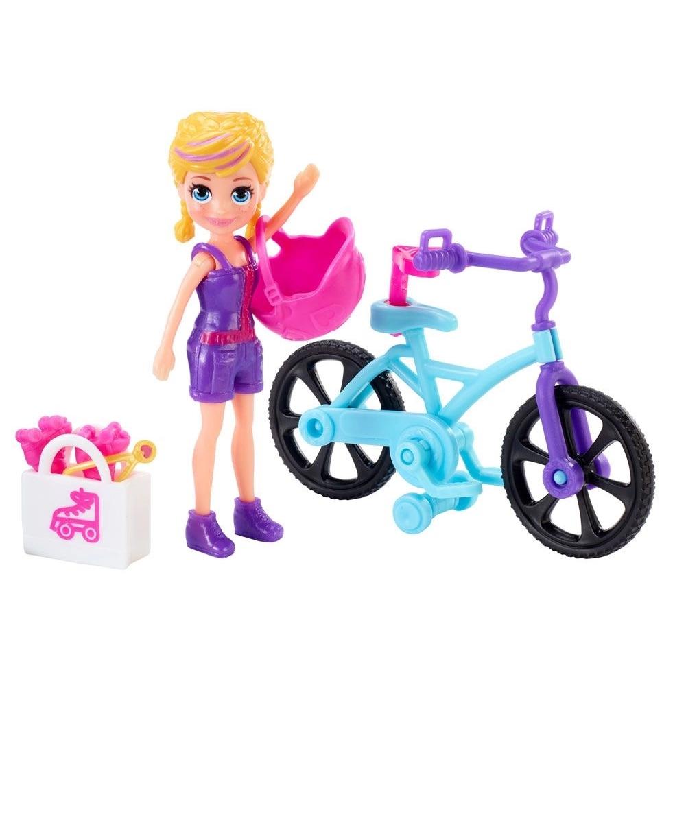 Boneca E Acessórios Polly Pocket Aventura Sobre Rodas - Mattel Gfp94