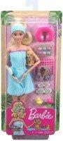 Boneca Barbie Fashionista Dia De Spa Com Filhotinho - Mattel