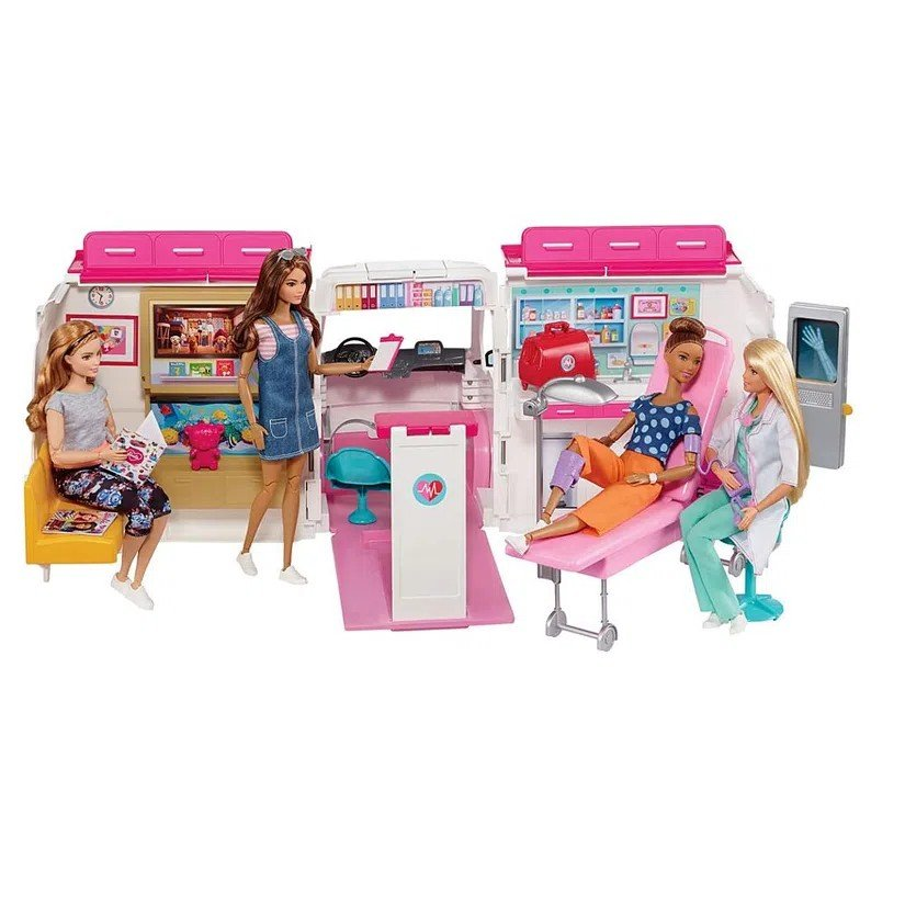 Hospital Móvel Da Barbie - Mattel Frm19