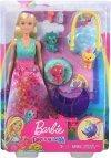 Boneca Barbie Dreamtopia Dia De Pets Babá De Dragões Bebês - Mattel Gjk51