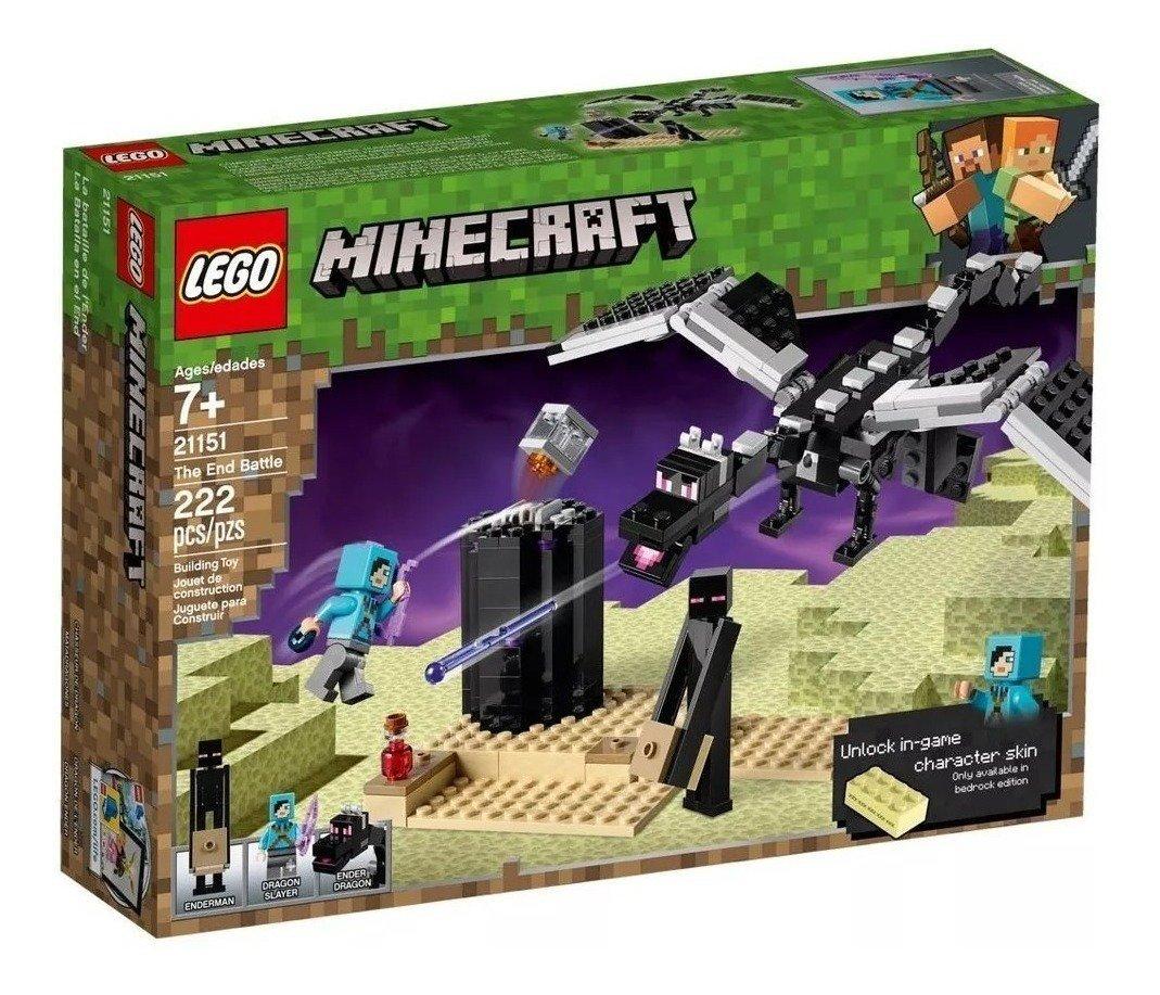 Lego Minecraft - Batalha Final - Lego 21151