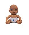 Boneca Bebê Surpresa Menino Ou Menina Moreno - Estrela 1500003
