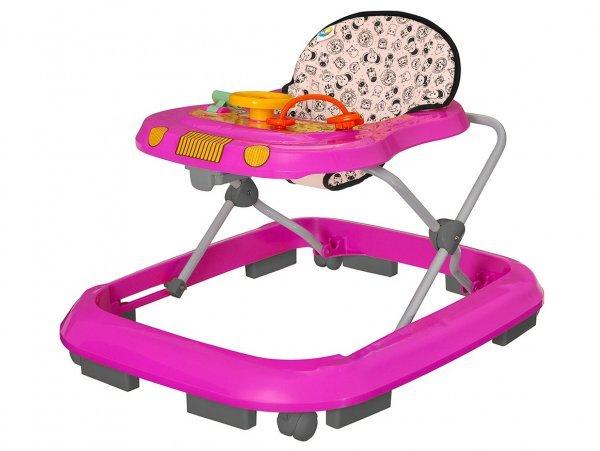 Andador Safari Rosa - Tutti Baby 2003.30