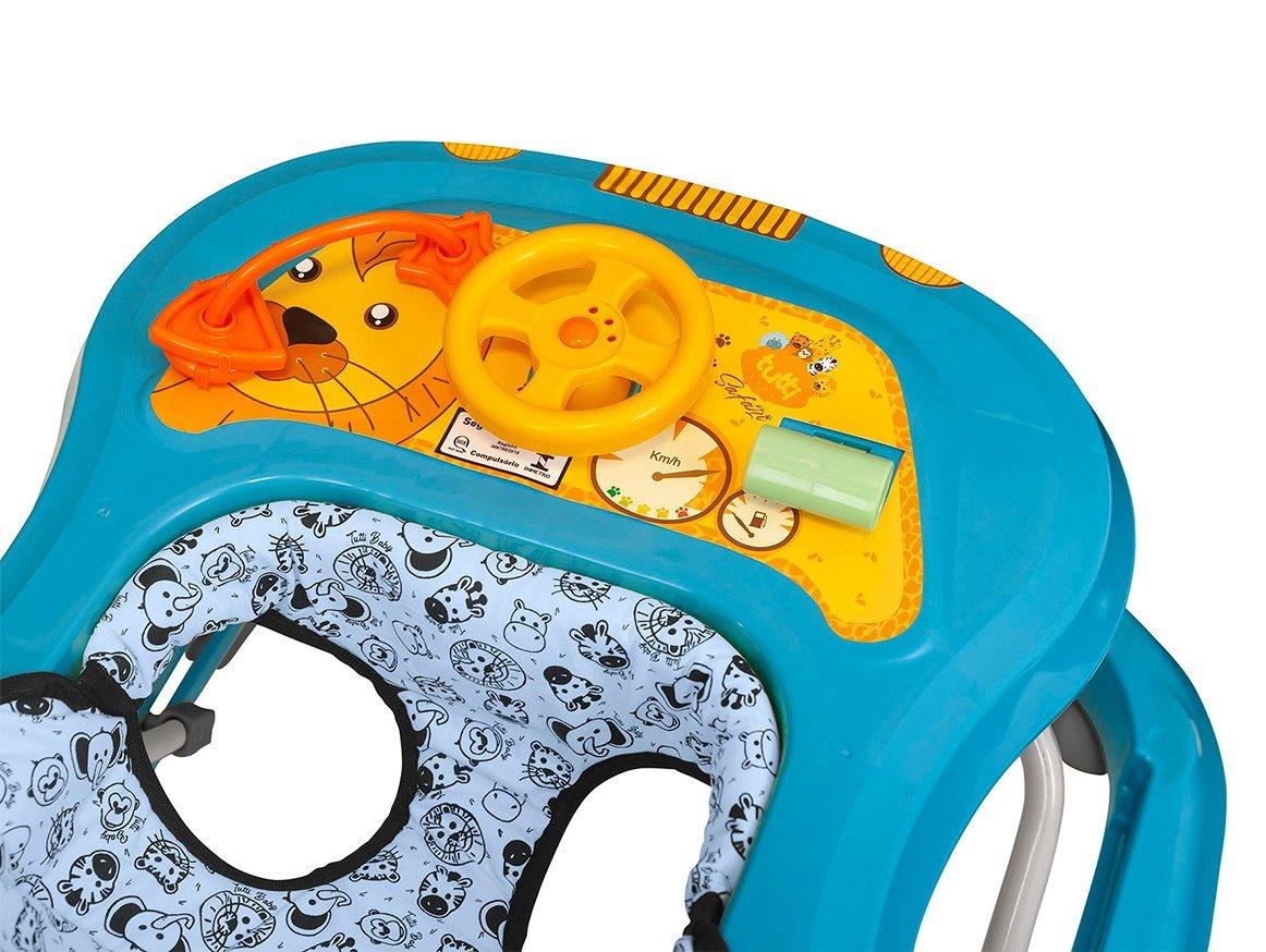 Andador Safari Azul - Tutti Baby 2003.32