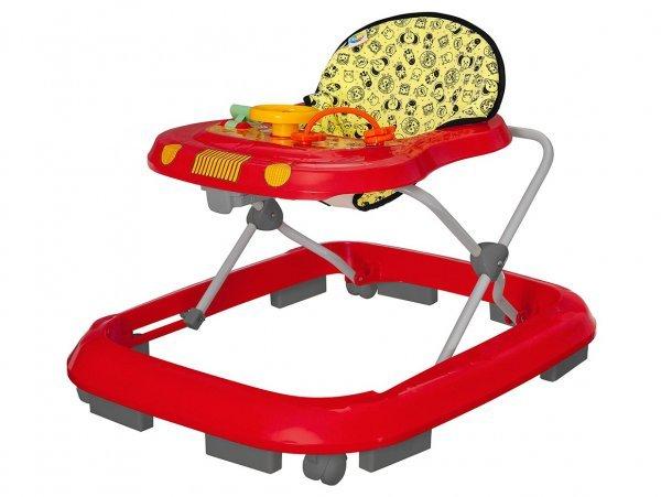 Andador Safari Vermelho - Tutti Baby 2003.34
