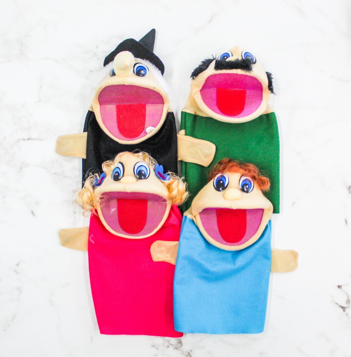 Kit C/4 Fantoches João E Maria - Help Toys Htfj4