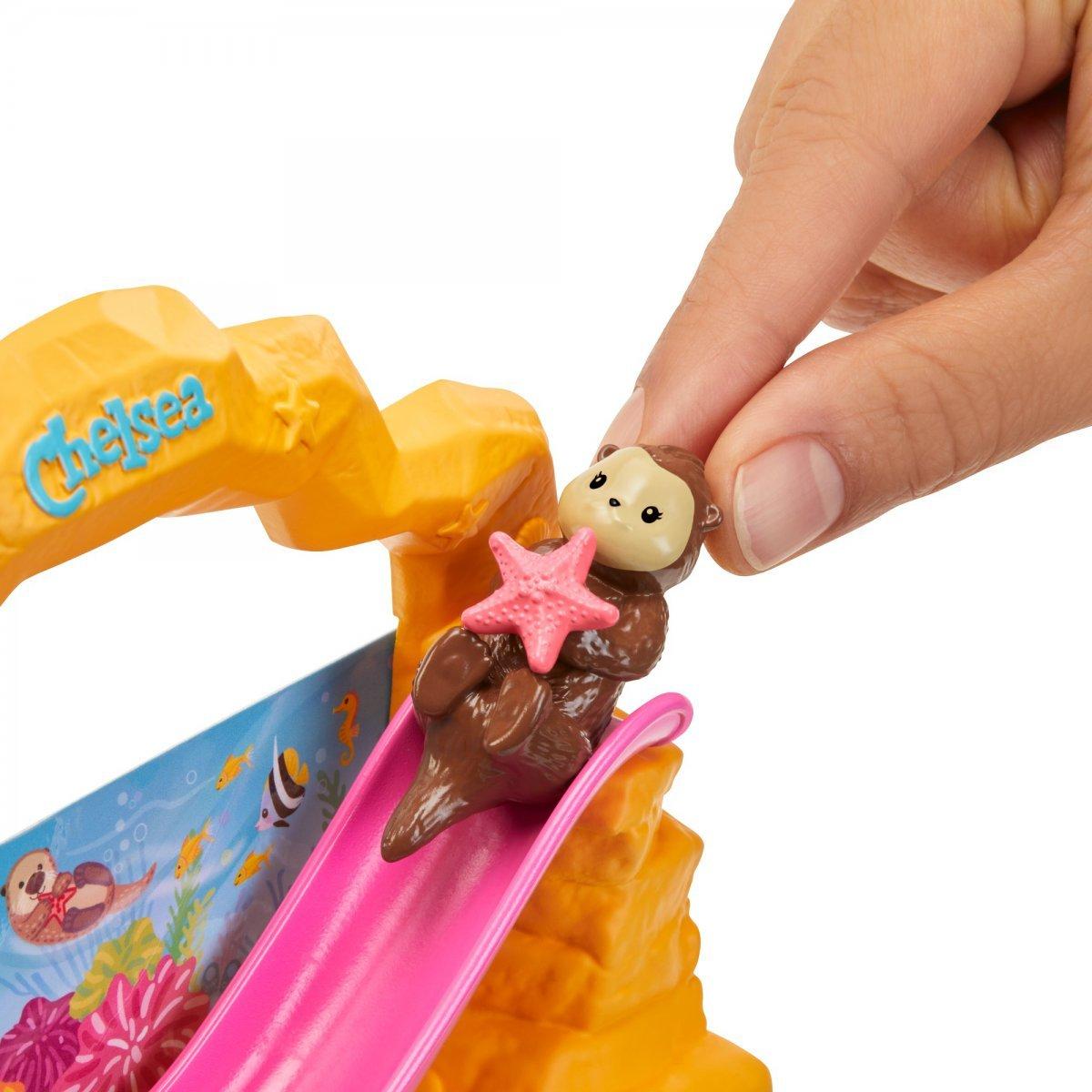 Boneca Barbie Conjuntos Da Chelsea Aquário - Mattel Fdb32