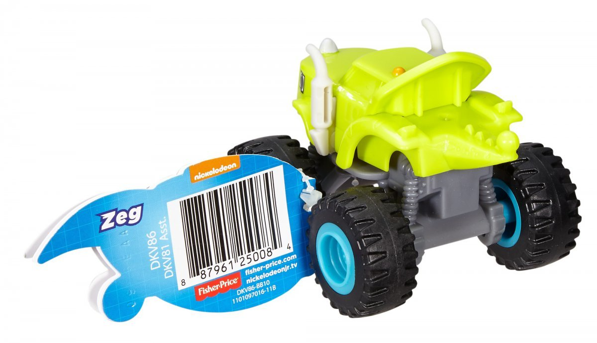 Zeg Monster Machines Blaze Veículo Básico Fisher-price - Mattel Dkv86