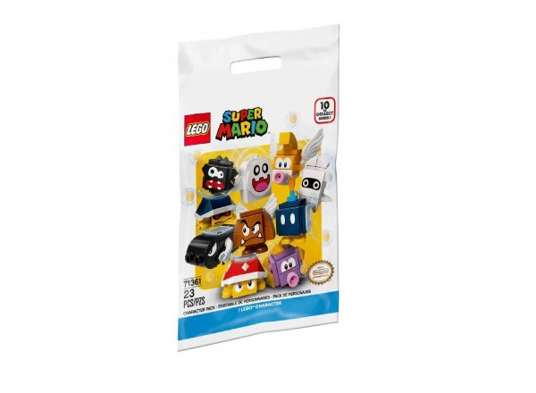 Lego Super Mario Pacote De Personagens 1 Minifigura Surpresa