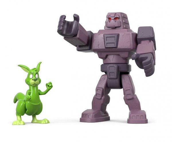 Boneco Cinderblock E Mutano Teen Titans Imaginext Fisher-price - Mattel Fmx56