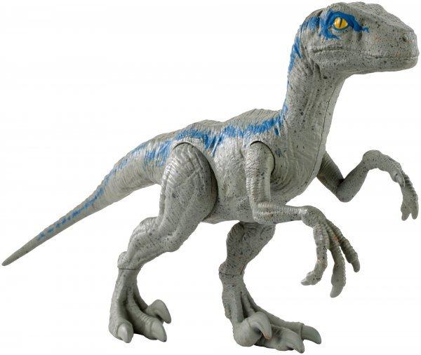 Jurassic World Velociraptor Blue Figura De Ação Básica 30 Cm - Mattel Fny41
