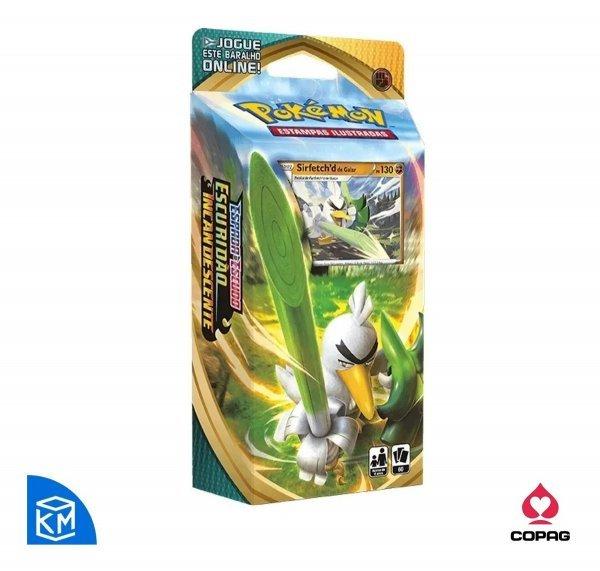 Pokémon Starter Deck De Galar Escuridão Incandescente Sirfetchd - Copag 89087