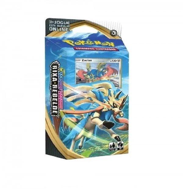 Pokémon Starter Deck Rixa Rebelde Zacian - Copag 90780