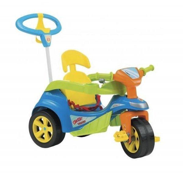 Triciclo Andador Baby Trike Evolution Azul - Biemme 614