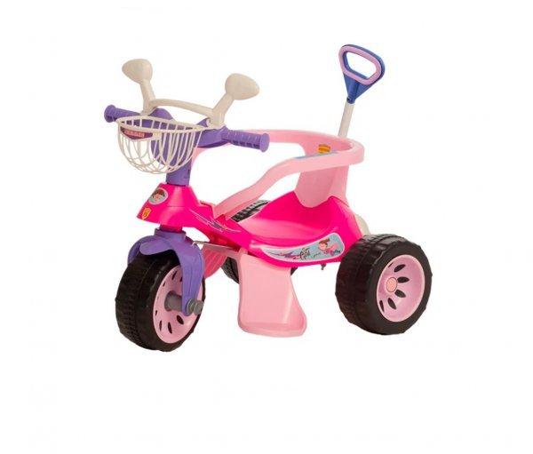 Triciclo Andador Super Cross Rosa - Biemme