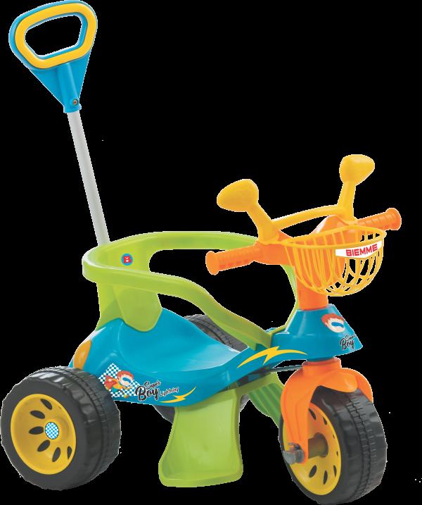 Triciclo Andador Super Cross Azul - Biemme 609