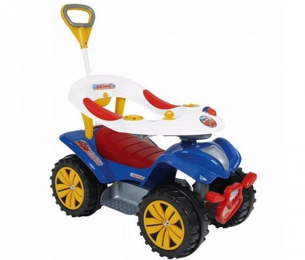 Andador Infantil Carrinho Motoca Com Direção Dudu Car Style - Biemme 718