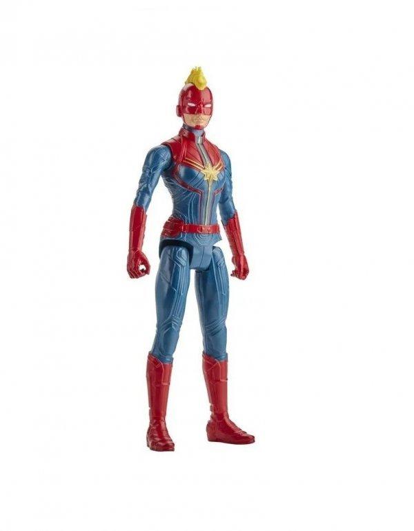 Boneco Capitã Marvel Titan Hero Marvel - Hasbro