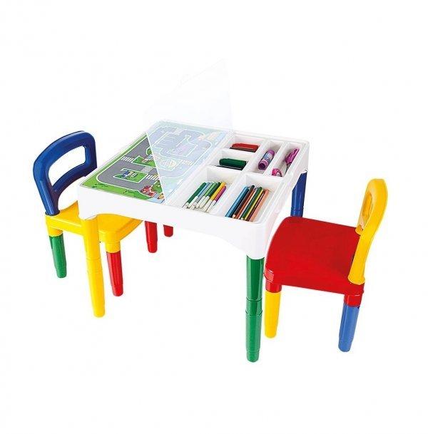 Mesinha Didática Infantil Com Cadeiras - Poliplac 5825