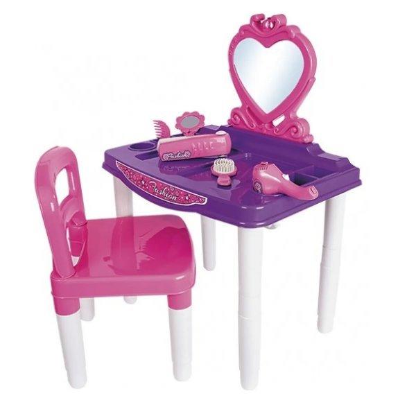 Master Penteadeira Fashion Com Cadeira - Poliplac 7263