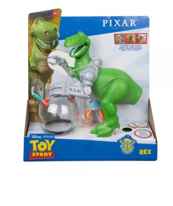 Boneco Com Acessório Do Filme Toy Story Dinossauro Rex - Mattel Gjh50