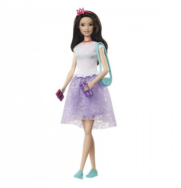 Boneca Barbie Princess Adventure Princesa Renee - Mattel Gml71